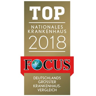 Certificate of rating of the best clinics according to Top Focus magazine.
