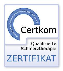 Немецкий сертификат качества CERTKOM — лечение без боли.