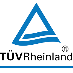 Certificate of independent auditing company TÜV